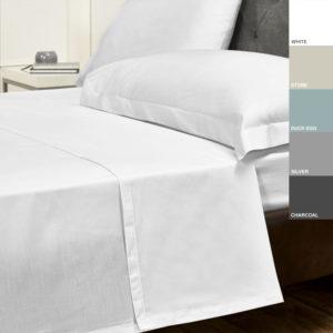 Sheraton 400TC Egyptian Cotton Flat Sheet