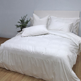 300TC Amelia Embroidered Duvet Cover Set