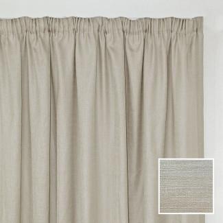 Georgia Taped Curtain Cream
