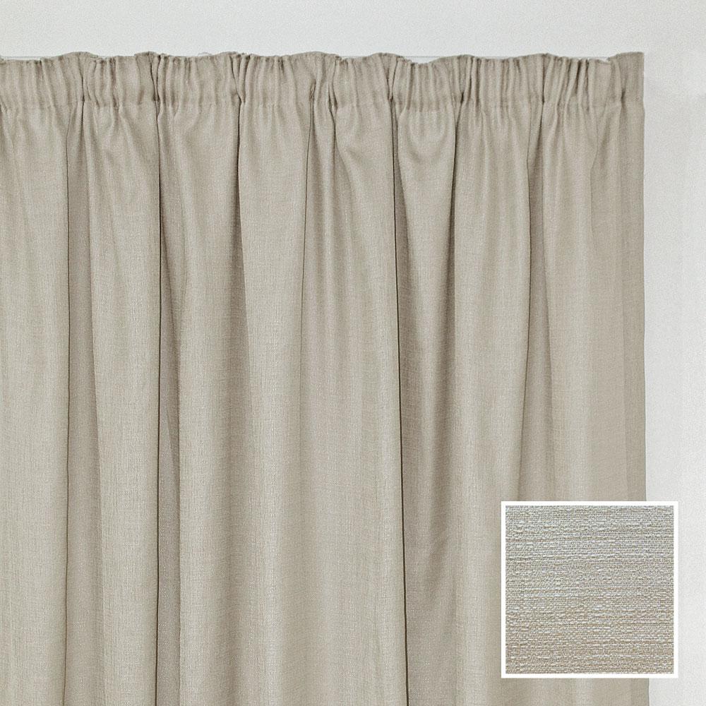 sheraton georgia taped curtain natural 2 sizes