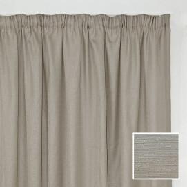 Georgia Taped Curtain Natural