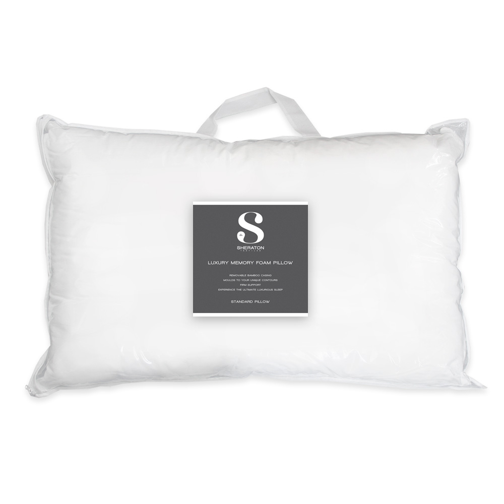 memory foam calm pillow sleep