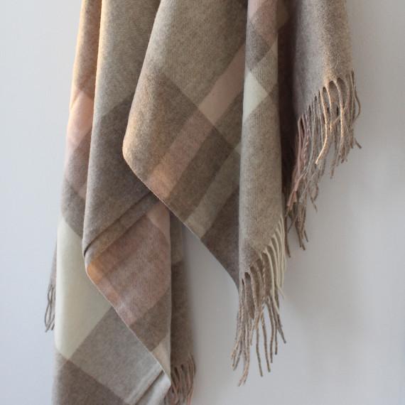 Enna Fine Merino Wool Throw 140 x 200cm