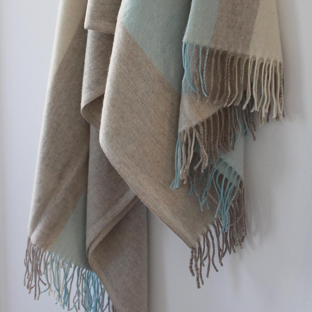 Kere Fine Merino Wool Throw 140 X 200cm Sheraton