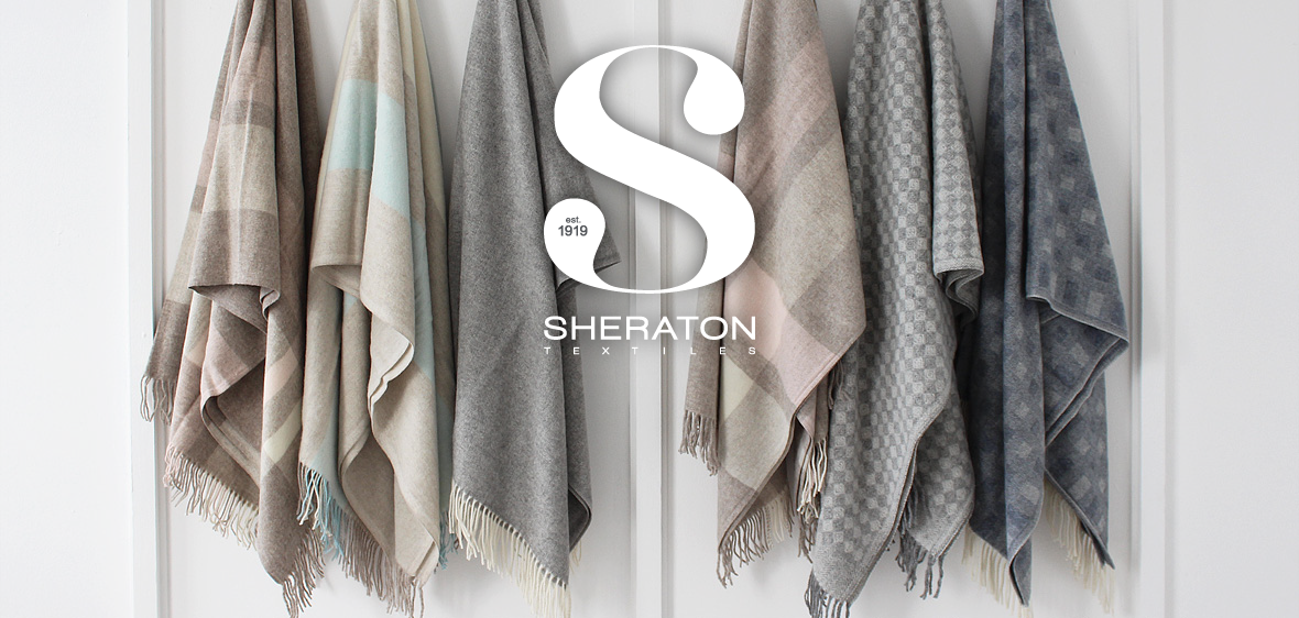 Sheraton Textiles Merino Wool Throws