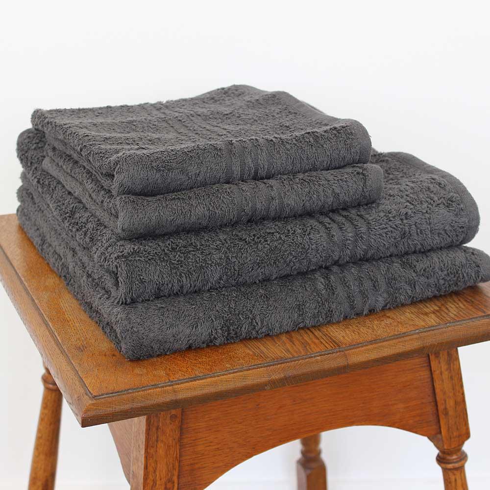 Glodina Charcoal Snag Proof Towels 550g Sheraton