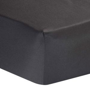 Sheraton 400TC Egyptian Cotton Fitted Sheet - Dark Grey
