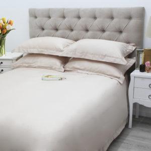 Blush 400TC Oxford Egyptian Cotton Duvet Cover Set