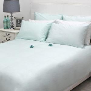 Sheraton Mint 300TC Cotton Duvet Cover Set