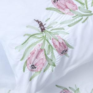 Sheraton Protea 200TC Embroidered Duvet Cover Set