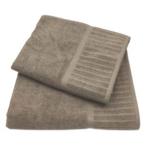 Colibri Plain Towel Set Pebble